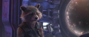 Avengers Infinity War-Rocket Raccoon 9