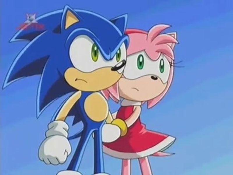 Sonic X E15 Amy Rose Sonic By Giuseppedirosso On Deviantart