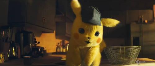 Pokemon Detective Pikachu-Pikachu 5 by GiuseppeDiRosso