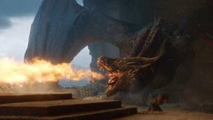 Game of Thrones S8-Drogon 18 by GiuseppeDiRosso