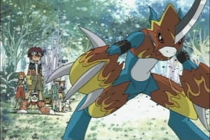 Digimon S02-Flamedramon