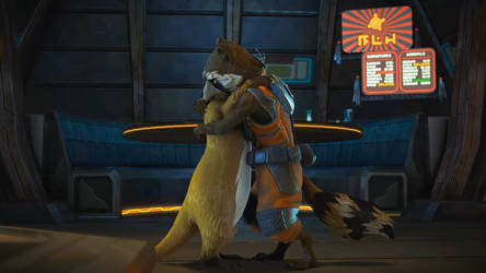Telltale Guardians-Lylla Rocket Raccoon