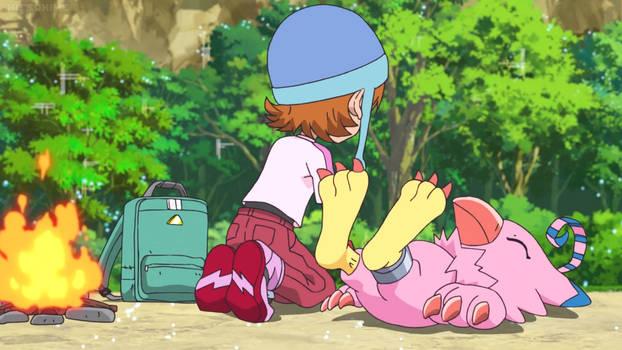 DigimonAdventure2020 E4-Biyomon Feet 1