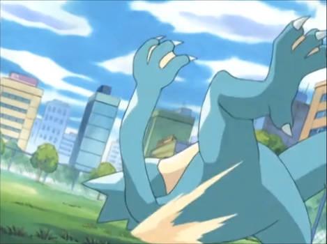 Pokemon AG-Golduck Feet