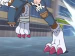 DigimonAdventure2020 E17-Weregarurumon Feet