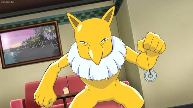 Pokemon Sun Moon-Hypno