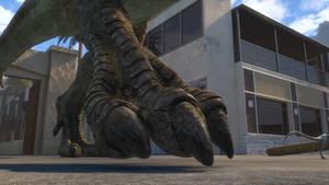 JW Camp Cretaceous-Tyrannosaurus Feet 2a