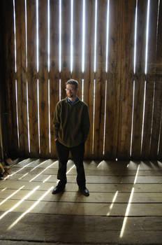 Austin in a Barn