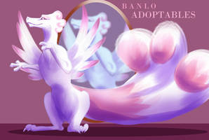Fabulous dragon - [AUCTION CLOSED] by Banlo