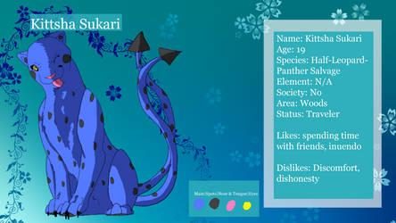 Kittsha Ref (Cat) by MysticMoonChamu