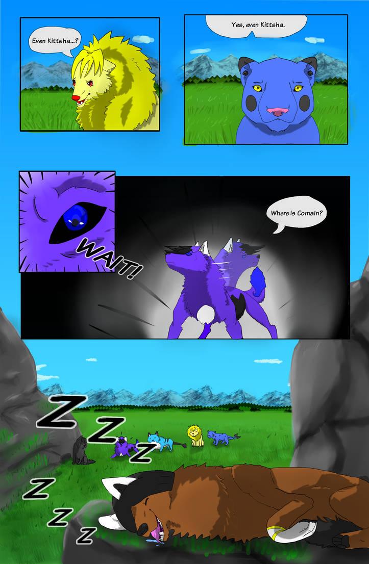 T.E.E PAGE 13 by MysticMoonChamu