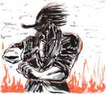 Inktober #20 (Extra) - Mr. Tengu Show