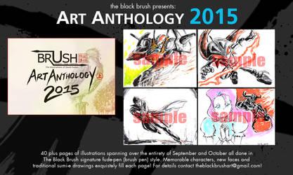 ART ANTHOLOGY 2015 (for sale)