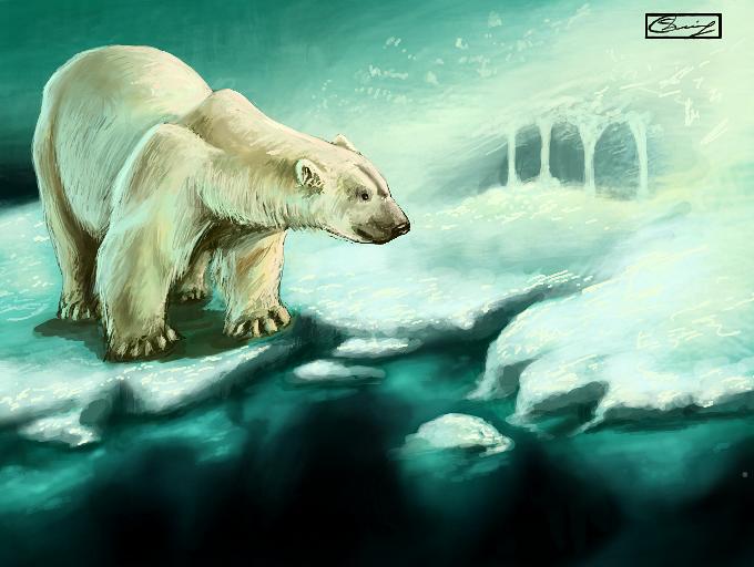 Polar bear by MO-SAID