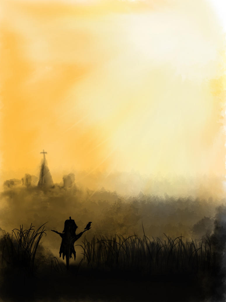 Scarecrows watching by Z0la25