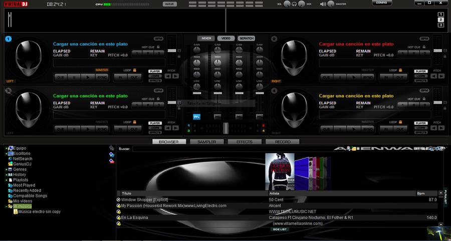 free download vdj skins