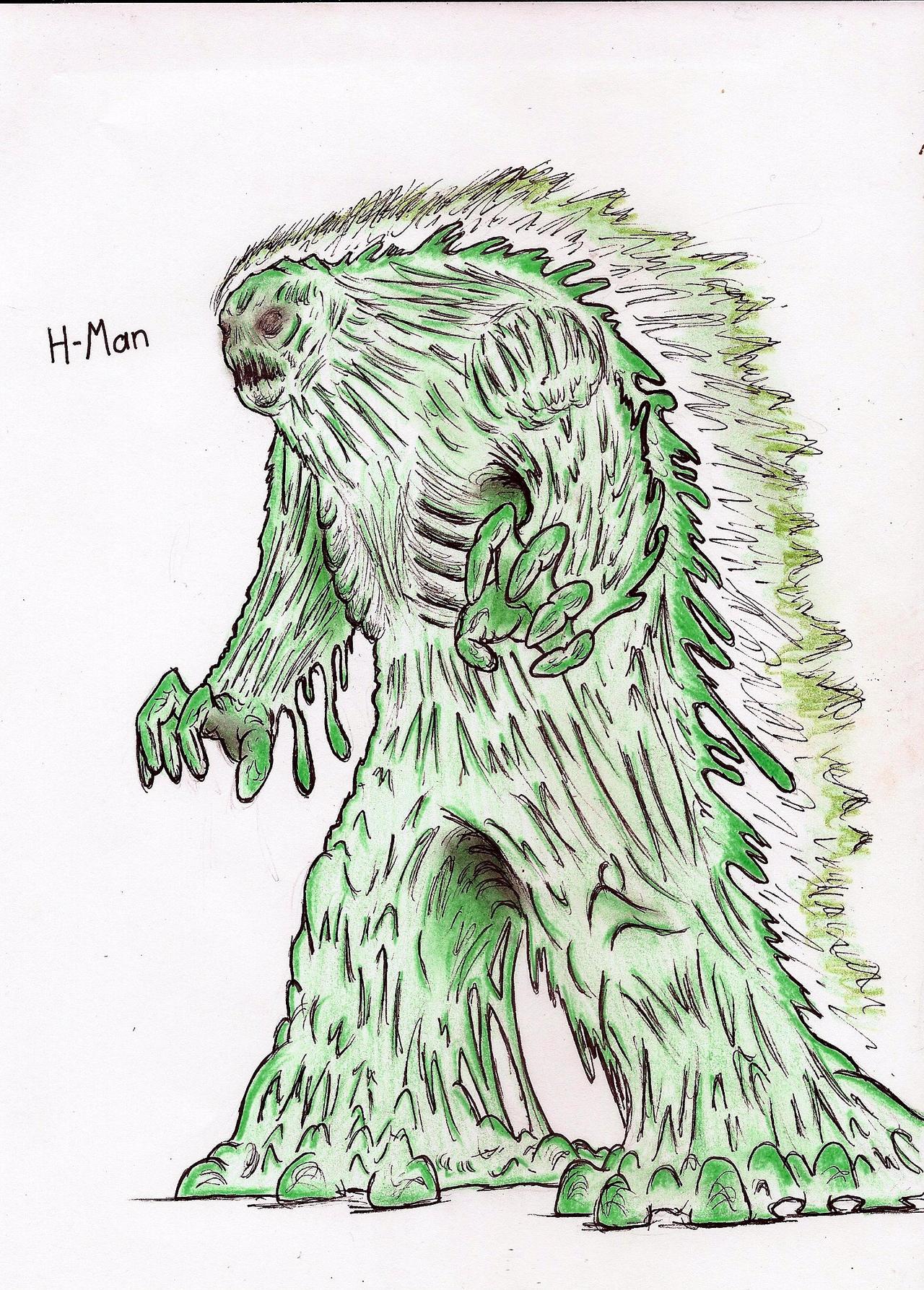 H-Man by MonsterKingOfKarmen