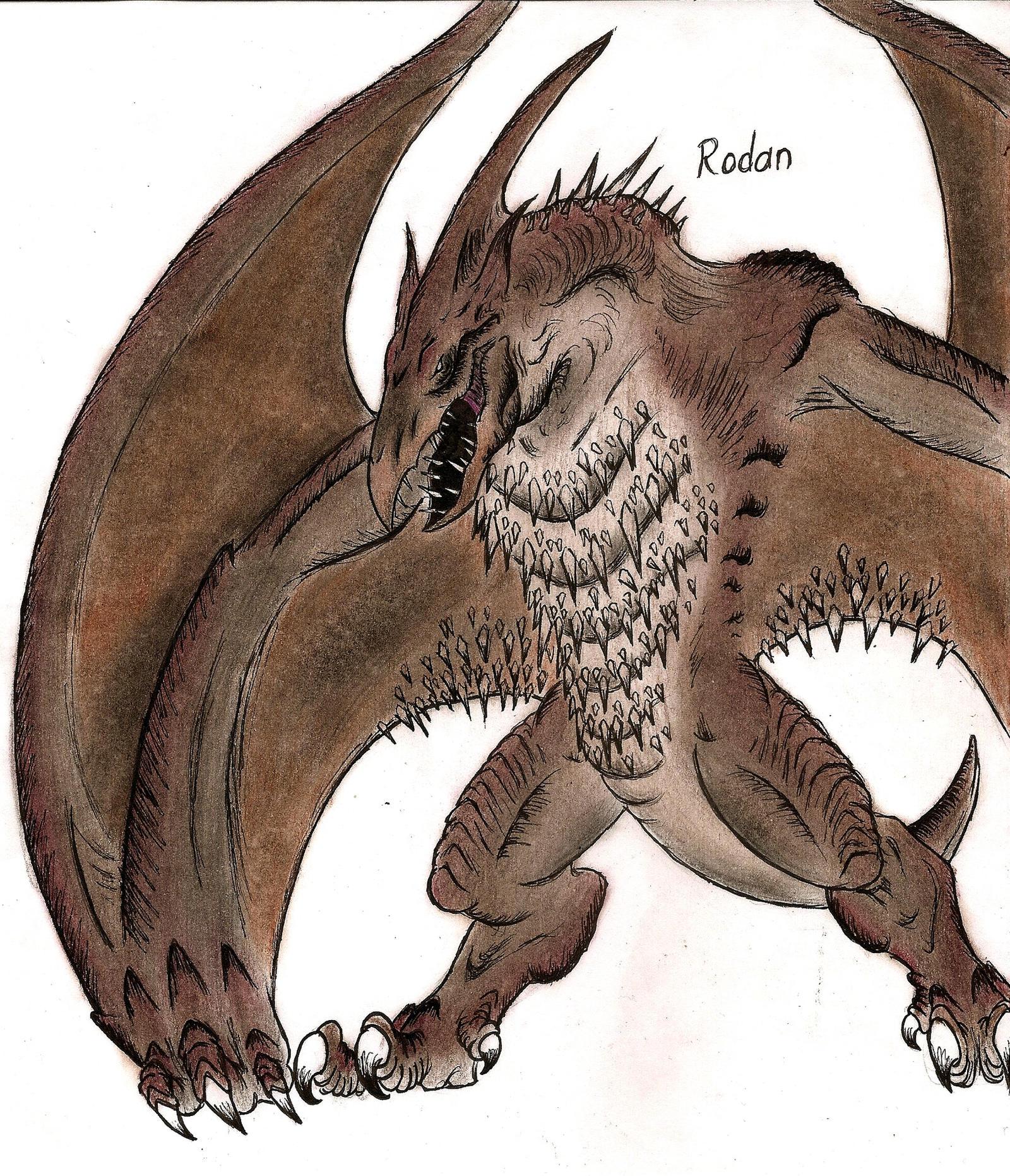 Rodan by MonsterKingOfKarmen