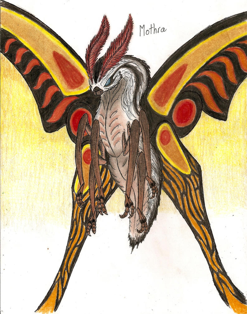 Mothra by MonsterKingOfKarmen