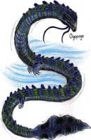 Cryptids - Ogopogo by MonsterKingOfKarmen