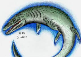 Cryptids - U-28 Creature by MonsterKingOfKarmen