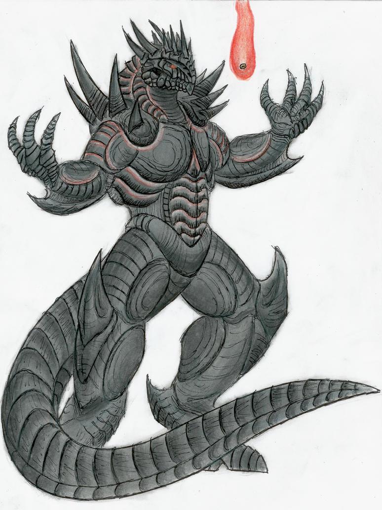 sauron dragon form by monsterkingofkarmen on deviantart