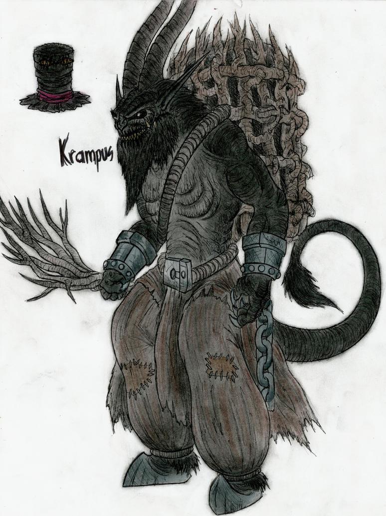 Krampus by monsterkingofkarmen on deviantart - Krampus wallpaper ...