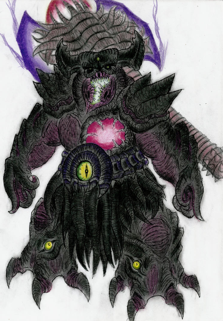Champion of the Void Sion by MonsterKingOfKarmen