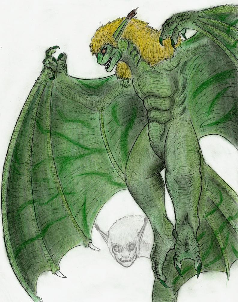 Goblin Dragon by MonsterKingOfKarmen