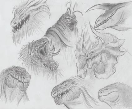 Godzilla, Free Minded Drawing