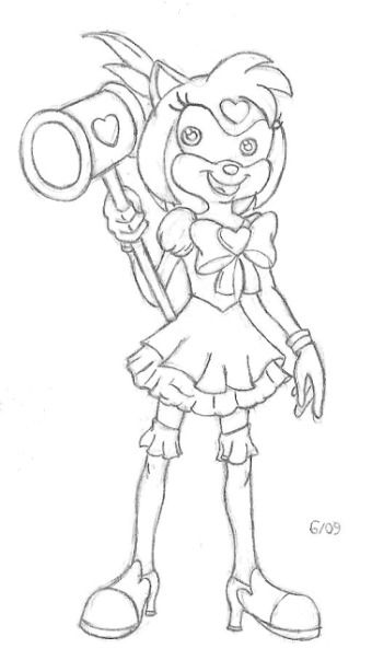 StH: Chibi Rose by NicGiraffe