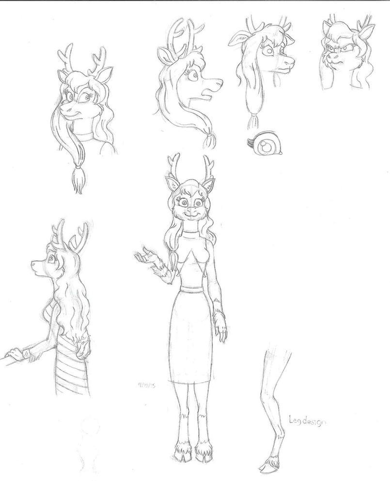 NICOLE the Reindeer by NicGiraffe