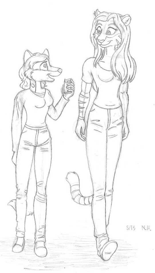 Interview With The Tigress by NicGiraffe