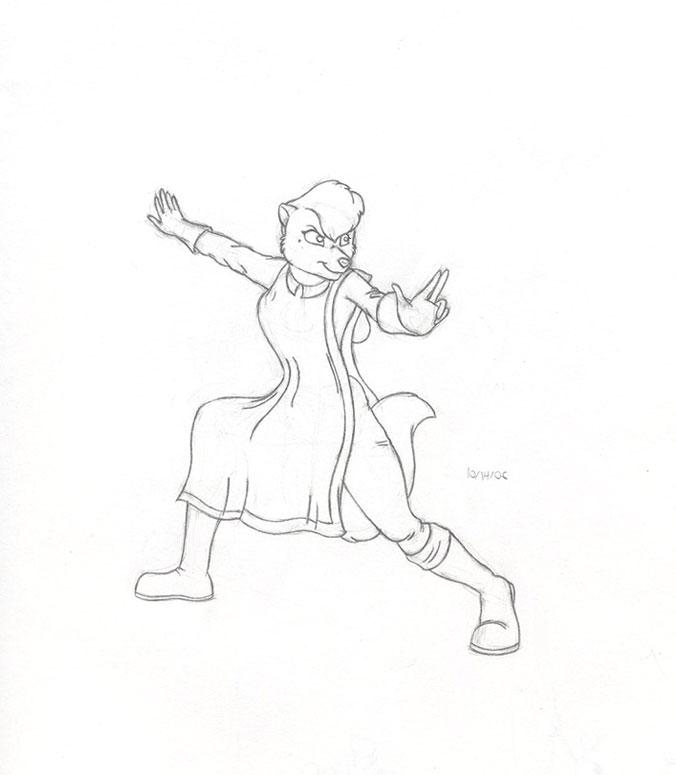 RR: Tao's Ferreteers: Sheila by NicGiraffe
