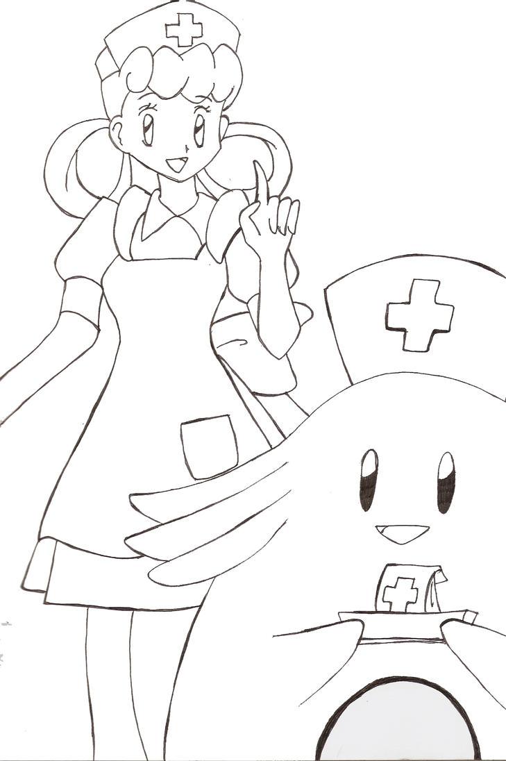 Nurse Joy and Chansey by MercyAntebellum on DeviantArt