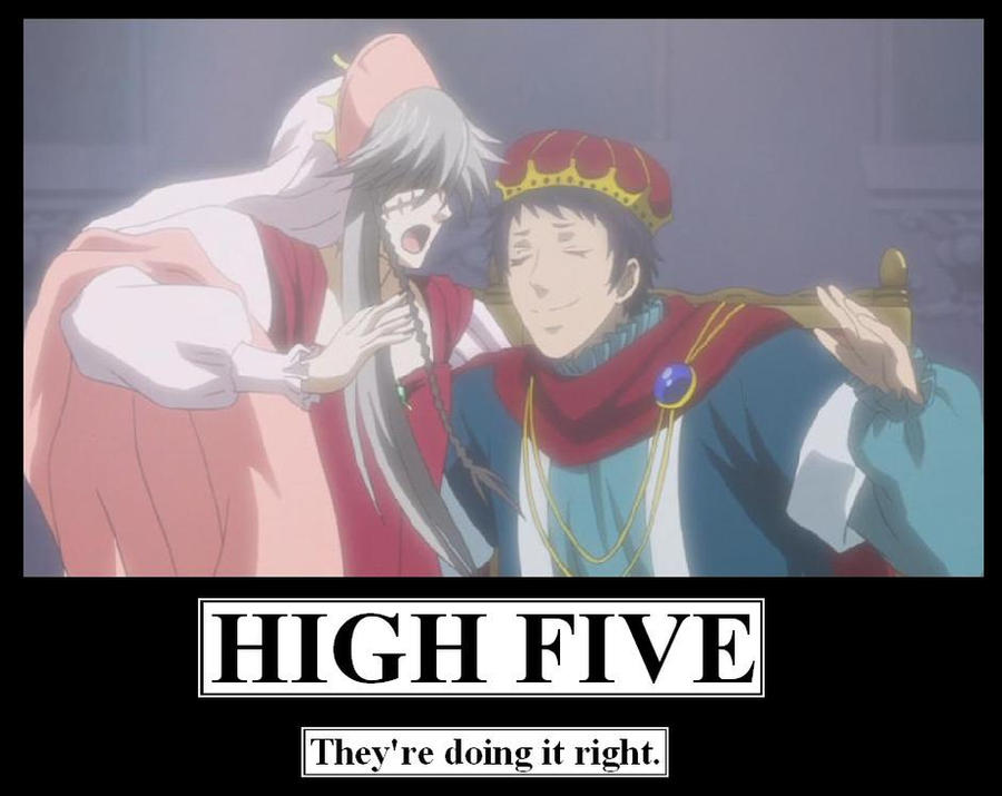 High Five by MercyAntebellum