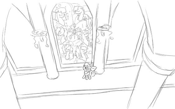 The Begining (Tales of Equestria) WIP