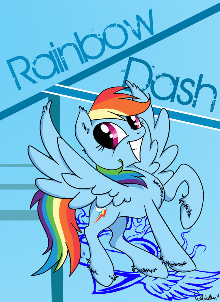 .:RAINBOW DASH:. by MercyAntebellum