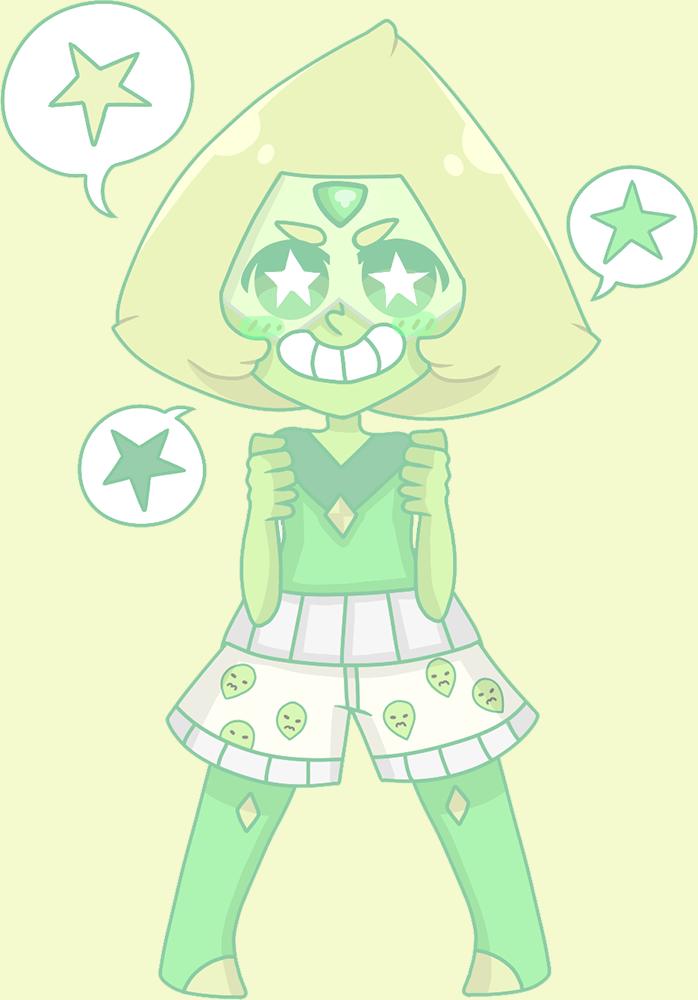 I LOVE THIS LITTLE DORITO A LOT OKAY ??? ;; I'm so happy she's a crystal gem now, sob