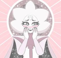 Blushing White Diamond (SU) by Miiette