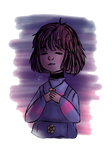 Lil Frisk | Colored sketch