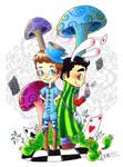 Klaine - In Wonderland