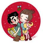 Klaine -  It is almost Christmas
