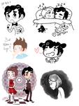 Klaine - Spam Doodles 2