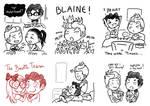 Klaine - Spam Doodles 3
