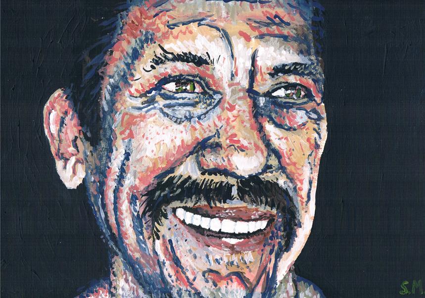 Danny Trejo by SallyDoesArts