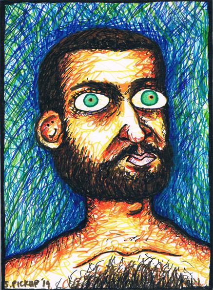 Seriuz Bob Portrait by SallyDoesArts