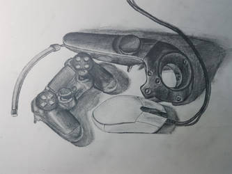 Controller Mouse Wand (Still Life) #2