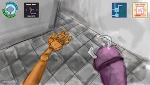 Bionic Man - UI Mockup