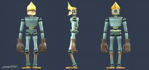 Knightreon - Character Turnaround